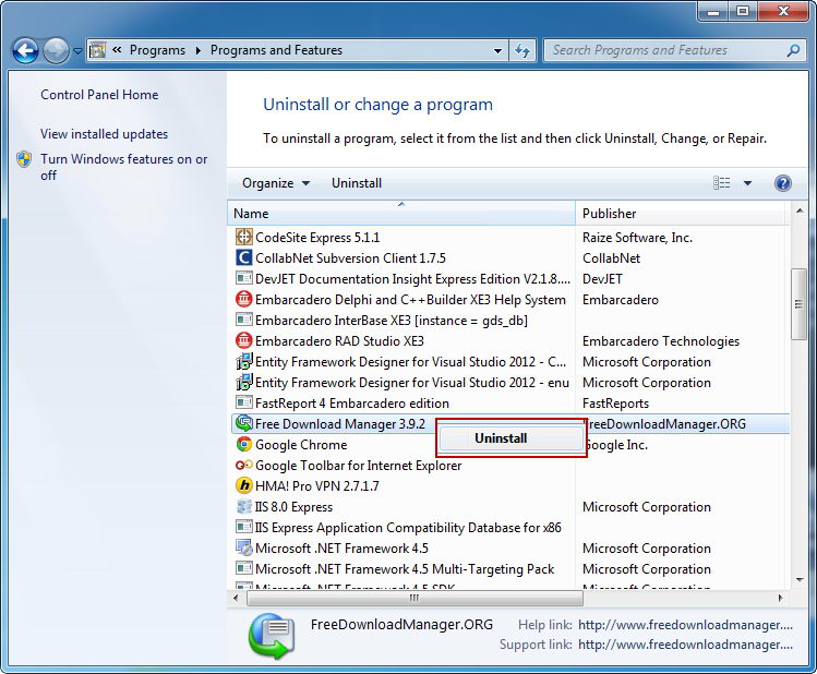 Uninstall_Free_Download_Manager