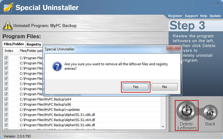 Can t uninstall mypc backup how to remove mypc backup