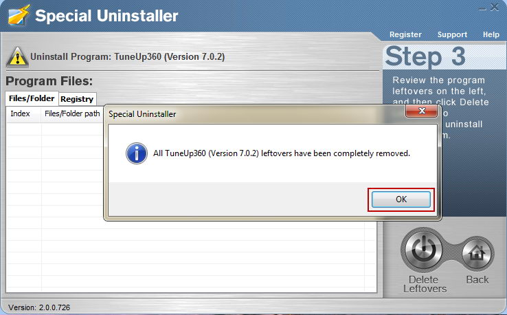how to make a clean uninstall