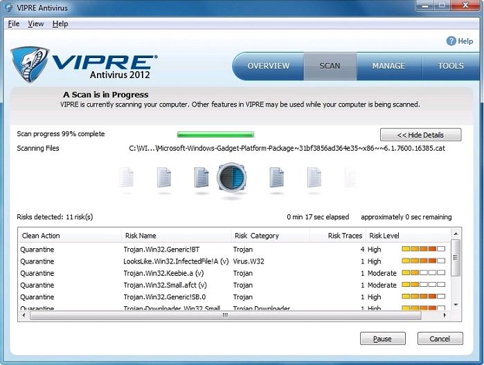 GFI VIPRE Antivirus 2012