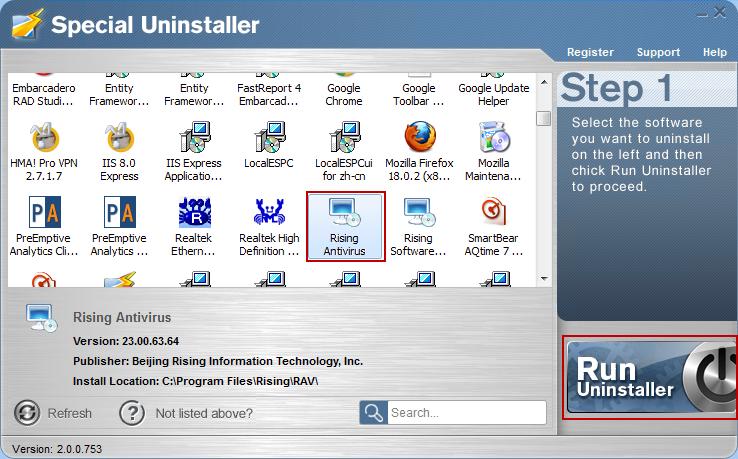 Uninstall_Rising_Antivirus_with_Special_Uninstaller1