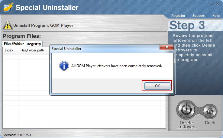 uninstall_GOM_Media_Player_with_Special_Uninstaller4