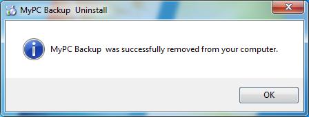 uninstall_MyPCBackup_program