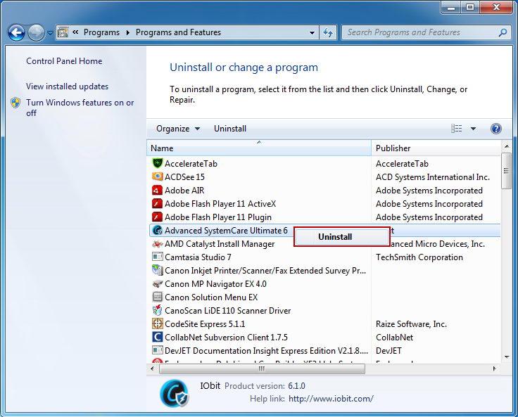 Uninstall_Smart_Defrag_programs