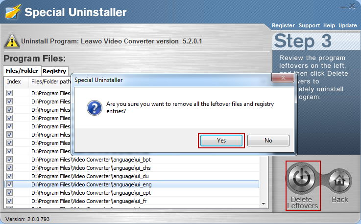 uninstall_Leawo_AVI_Converter_with_Special_Uninstaller4
