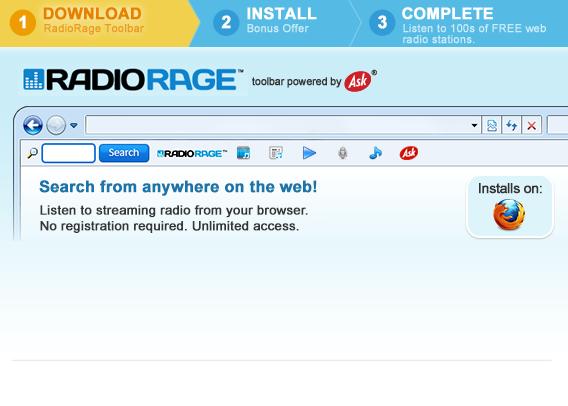 Radio-rage-toolbar