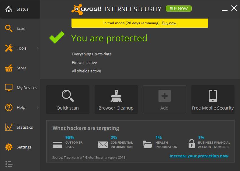 Avast! Internet Security 2014