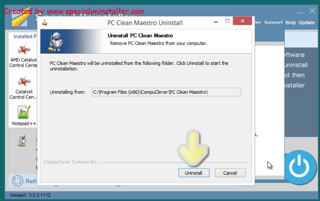 Know How to Uninstall PC Clean Maestro on Computer