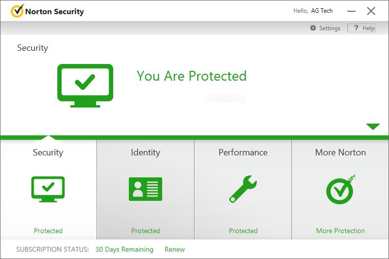 uninstall Norton Security 2015