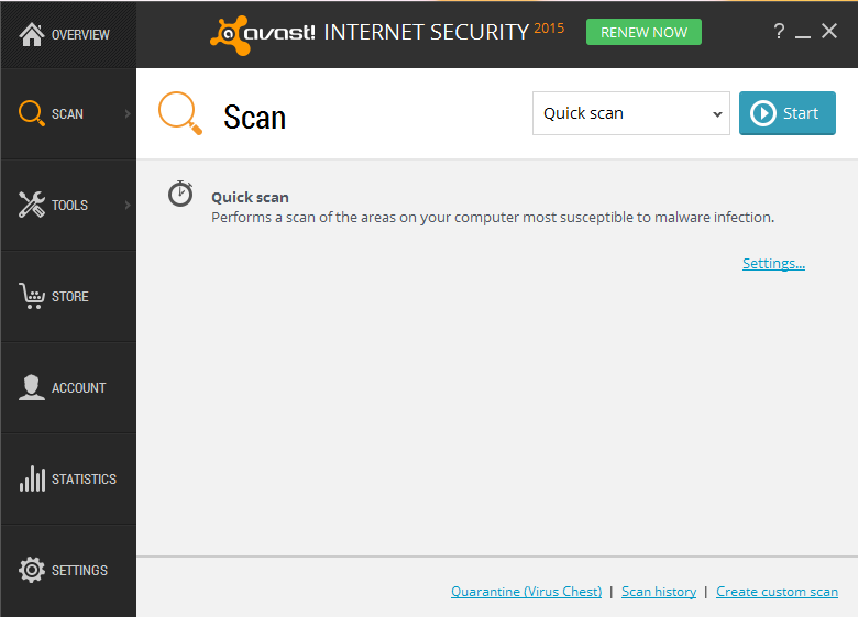 uninstall Avast Internet Security 2015