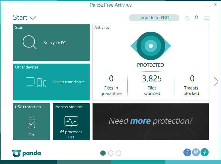 uninstall Panda Free Antivirus