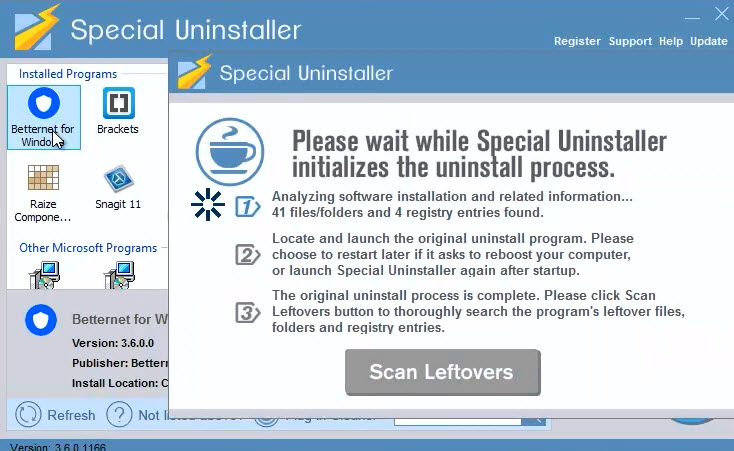 uninstall_betternet_3