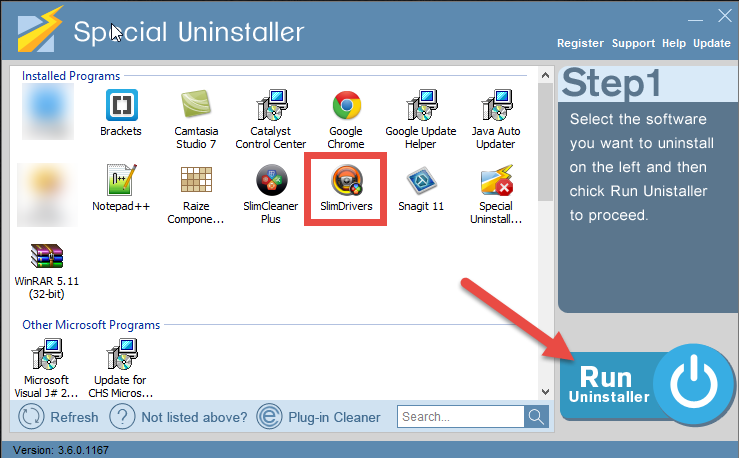 uninstall_slimdrivers_free_7