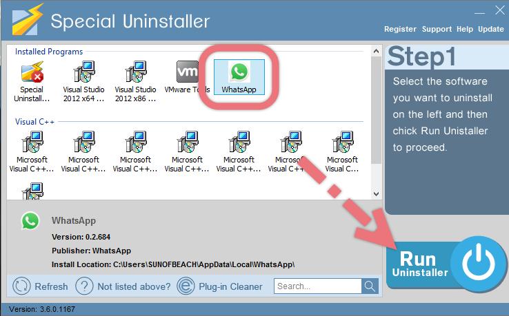 remove-whatsapp-with-su
