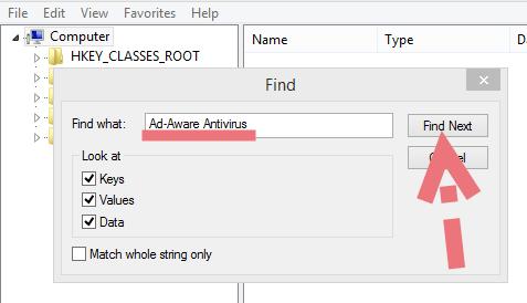remove-adaware-11-leftovers
