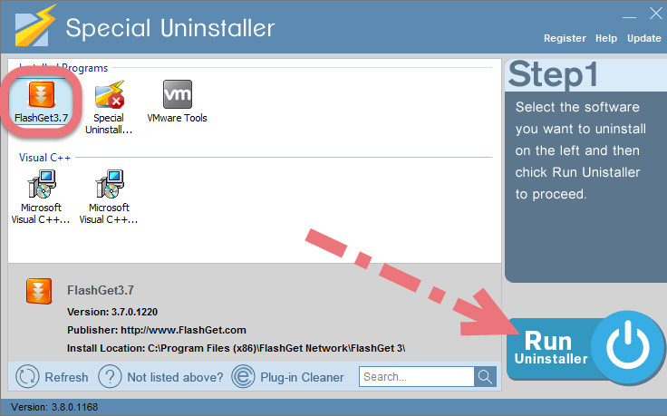 use-special-uninstaller-to-remove-flashget