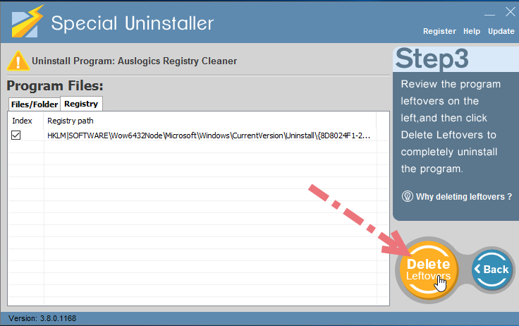 remove-auslogics-registry-cleaner-using-su-3