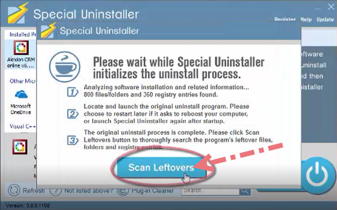 remove-Alexion-CRM-using-special-uninstaller-2