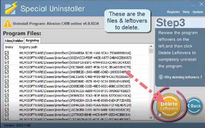 remove-Alexion-CRM-using-special-uninstaller-3