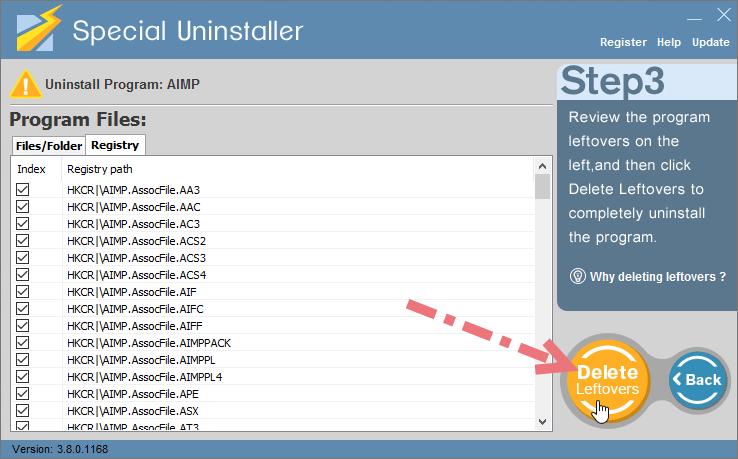 uninstall-AIMP-using-su-3