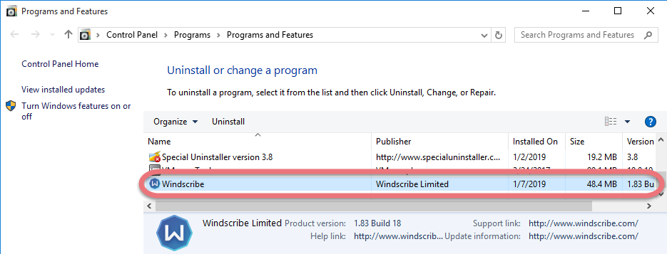 Windscribe For Win 7