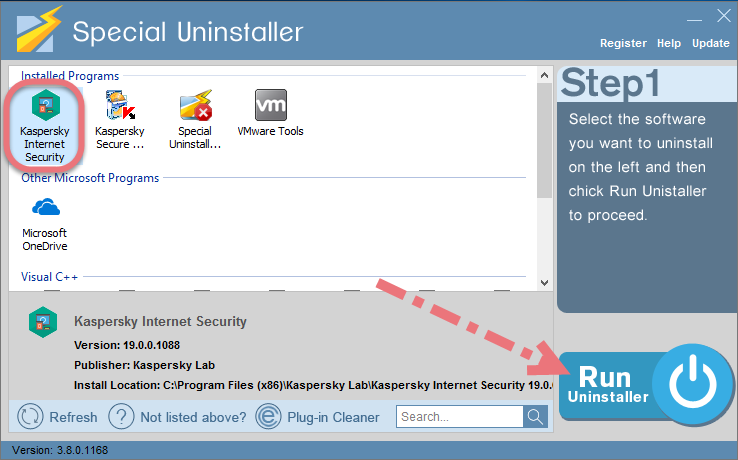 remove-kaspersky-internet-security-2019-using-su