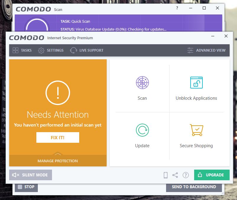 Comodo  Internet Security Premium 2019