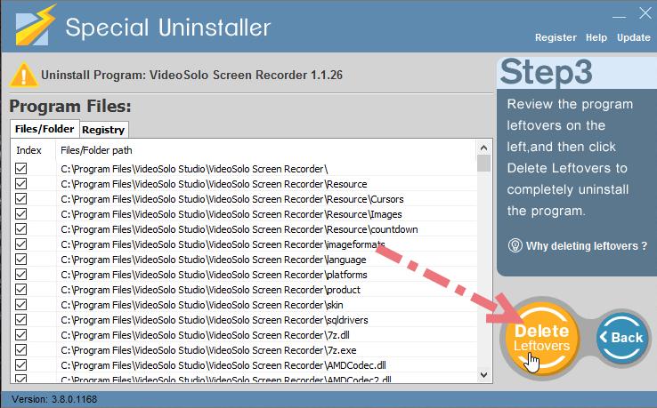 remove-videosolo-screen-recorder-using-su-3