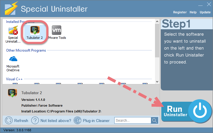Remove Tubulator 2 using Special Uninstaller.
