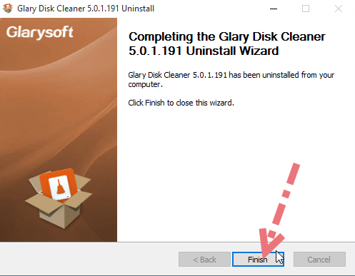 remove-glary-disk-cleaner-4