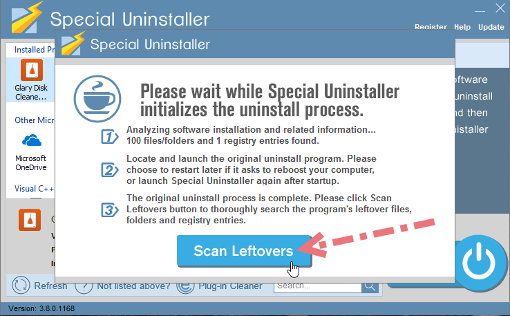 remove-glary-disk-cleaner-using-su-2