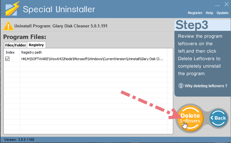remove-glary-disk-cleaner-using-su-3